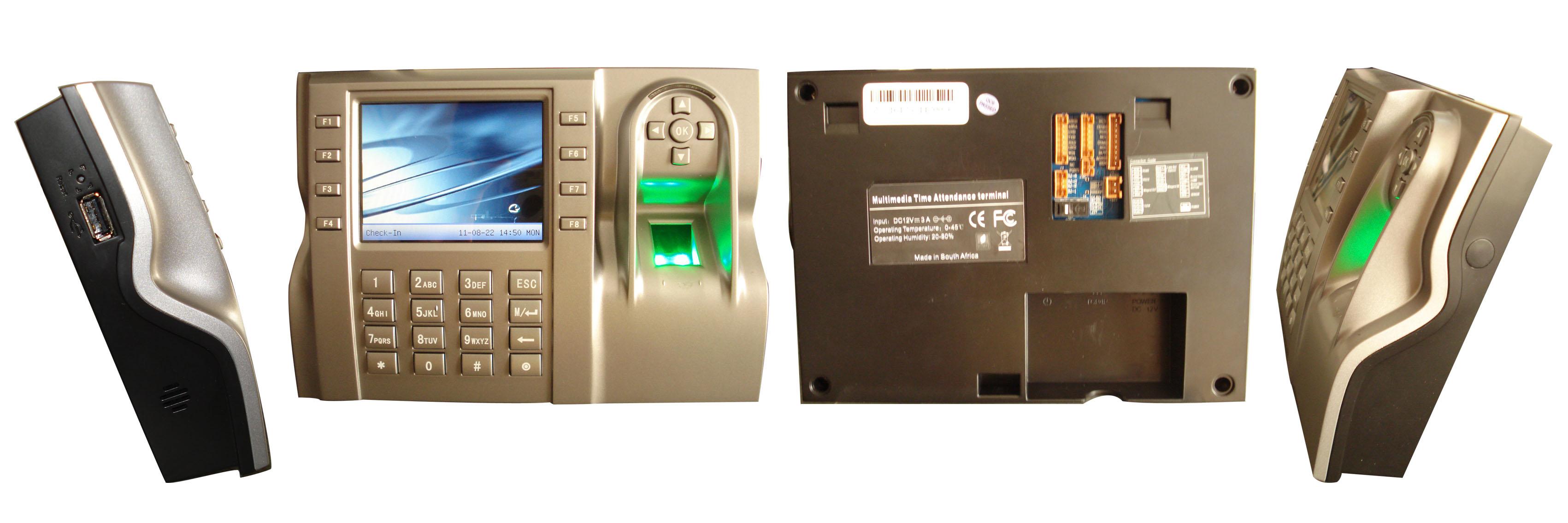 обзор биометрической системы iclock580