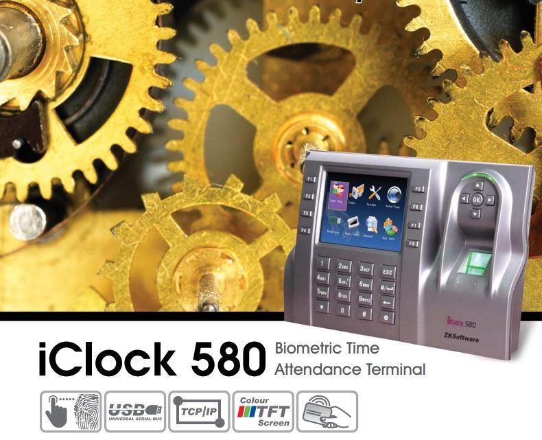 iclock580 терминал урв