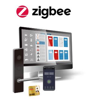 замок с zigbee протоколом